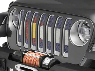 Under the Sun Grille Insert - Colorful Colorado (2018 Jeep Wrangler JL)