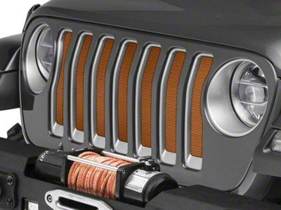 Under the Sun Grille Insert - Crush (2018 Jeep Wrangler JL)