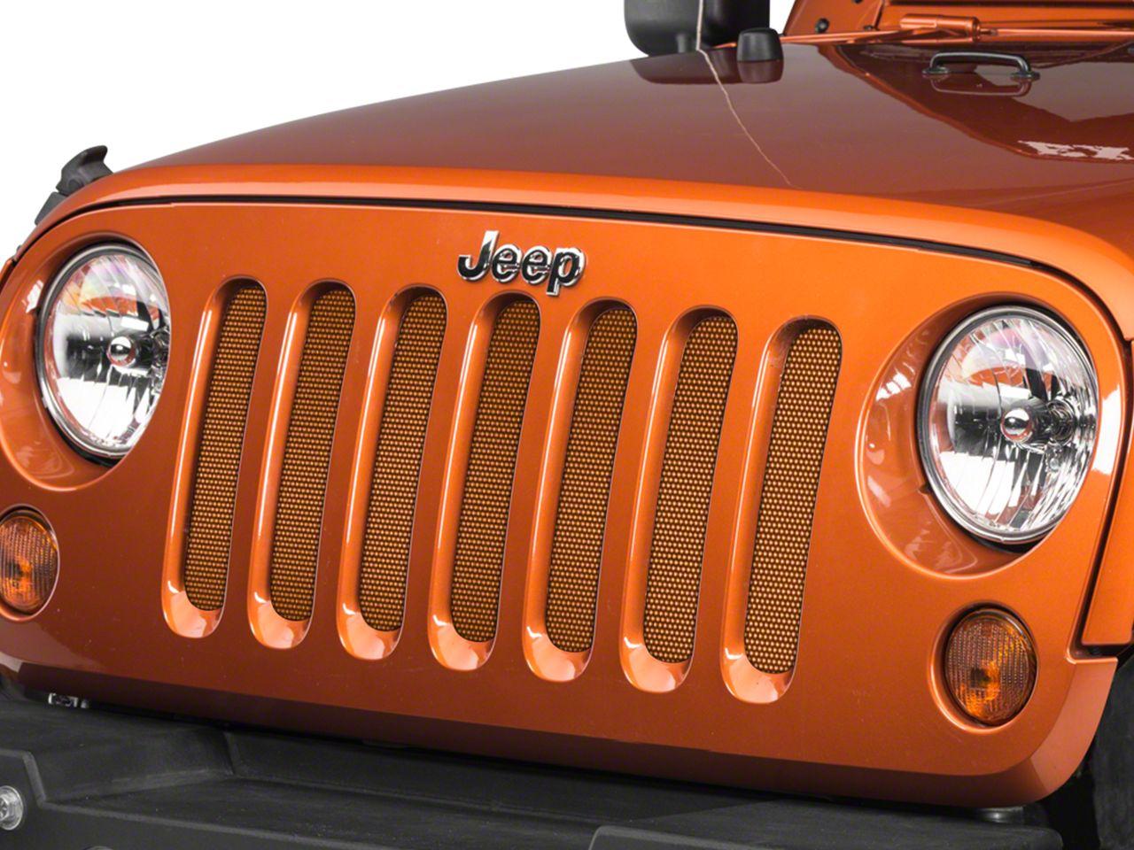 Under the Sun Grille Insert - Crush (07-18 Jeep Wrangler JK)