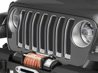 Under the Sun Grille Insert - Dark Charcoal Pearl (2018 Jeep Wrangler JL)