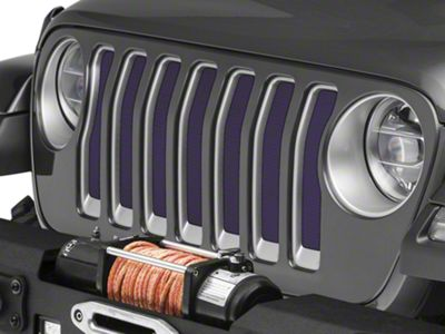 Under the Sun Grille Insert - Deep Amethyst Pearl (2018 Jeep Wrangler JL)