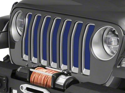 Under the Sun Grille Insert - Deep Water Blue Pearl (2018 Jeep Wrangler JL)