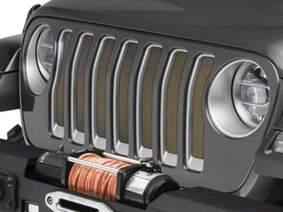 Under the Sun Grille Insert - Detonator Yellow (2018 Jeep Wrangler JL)