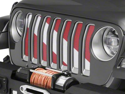 Under the Sun Grille Insert - Diver Down (2018 Jeep Wrangler JL)