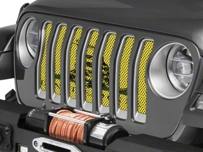 Under the Sun Grille Insert - Don't Tread On Me (2018 Jeep Wrangler JL)