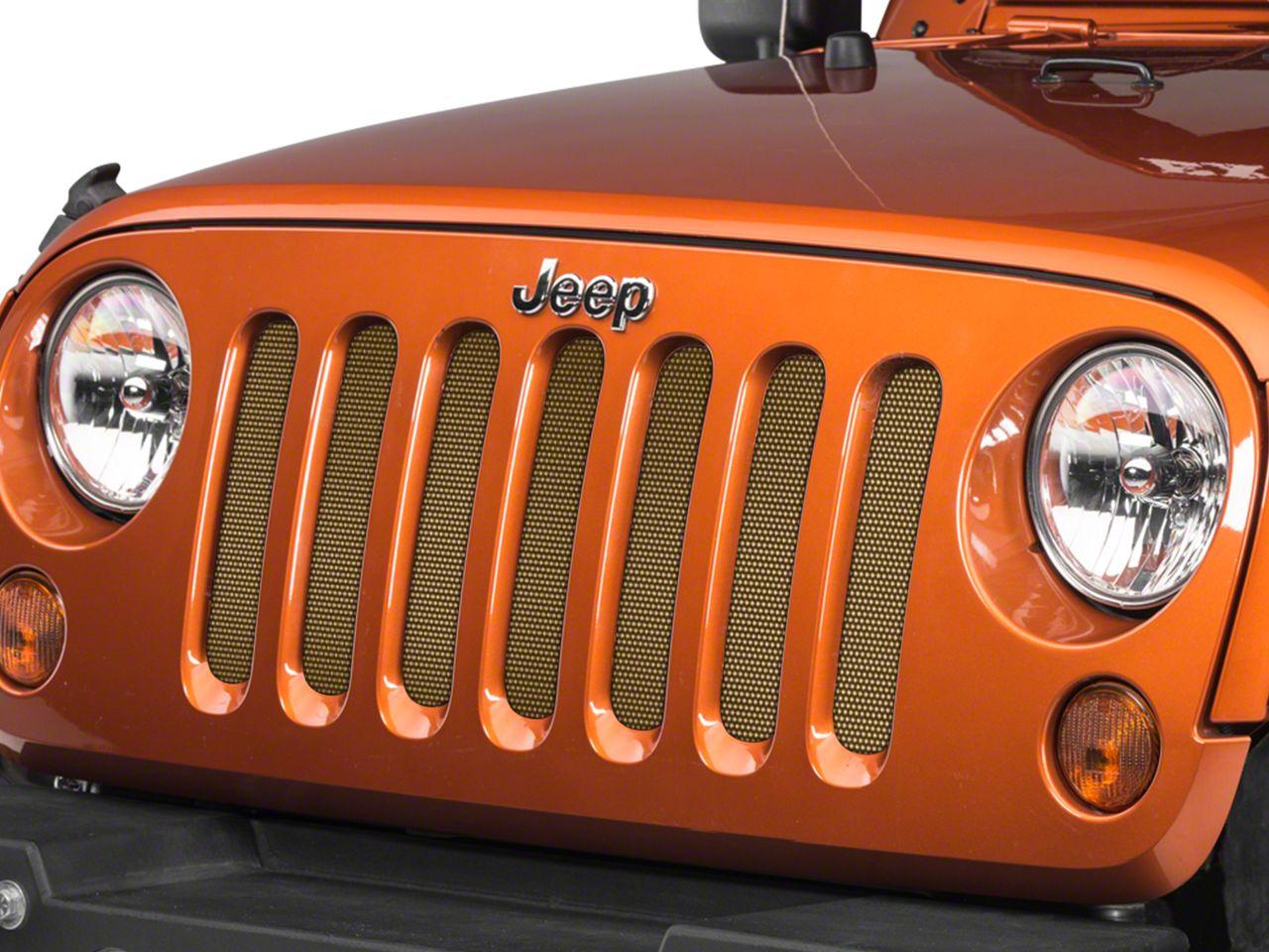 Under the Sun Grille Insert - Dune (07-18 Jeep Wrangler JK)