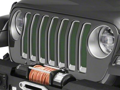 Under the Sun Grille Insert - Emerald Green (2018 Jeep Wrangler JL)