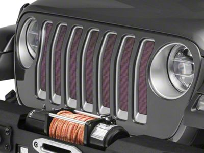 Under the Sun Grille Insert - Floyd (2018 Jeep Wrangler JL)