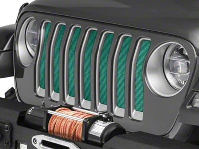 Under the Sun Grille Insert - Forest Green Pearl (2018 Jeep Wrangler JL)