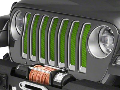 Under the Sun Grille Insert - Gecko (2018 Jeep Wrangler JL)