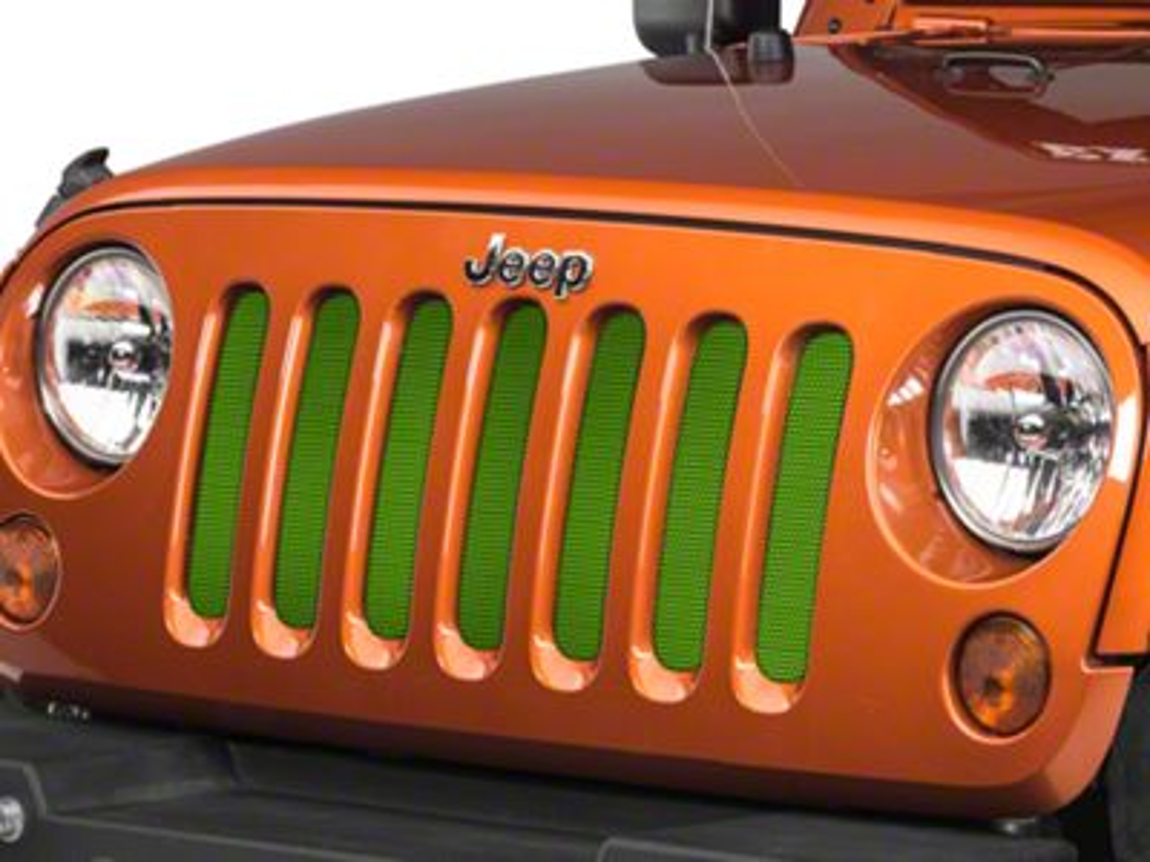 Under the Sun Grille Insert - Gecko (07-18 Jeep Wrangler JK)