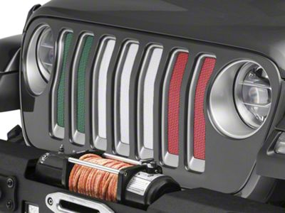 Under the Sun Grille Insert - How You Doin (2018 Jeep Wrangler JL)