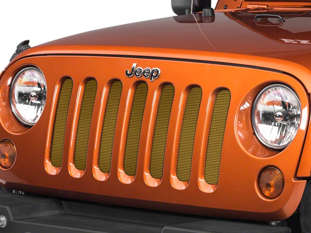 Under the Sun Grille Insert - Inca Gold (07-18 Jeep Wrangler JK)