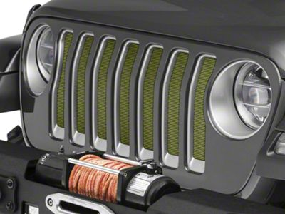 Under the Sun Grille Insert - Jeep Green Metallic (2018 Jeep Wrangler JL)