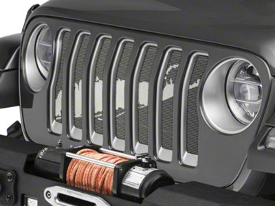 Under the Sun Grille Insert - Long Island (2018 Jeep Wrangler JL)
