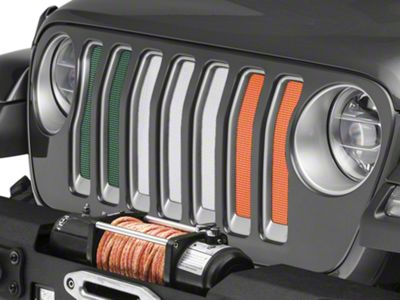 Under the Sun Grille Insert - Luck of the Irish (2018 Jeep Wrangler JL)