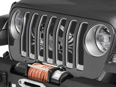 Under the Sun Grille Insert - Maryland Crab BO (2018 Jeep Wrangler JL)