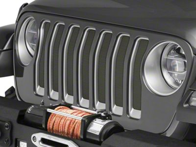 Under the Sun Grille Insert - Moss Green Pearl Coat (2018 Jeep Wrangler JL)
