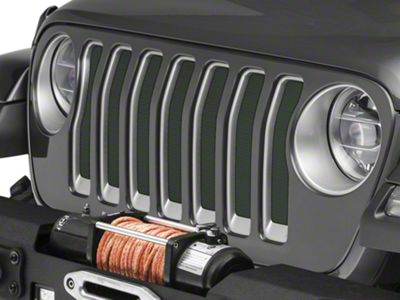 Under the Sun Grille Insert - Natural Green Pearl (2018 Jeep Wrangler JL)