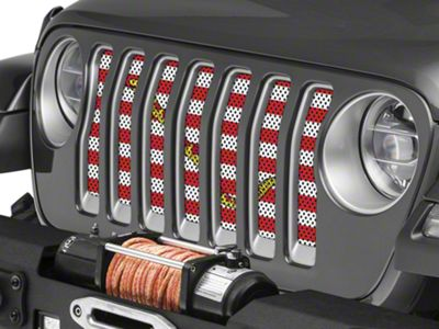 Under the Sun Grille Insert - Navy Jack (2018 Jeep Wrangler JL)