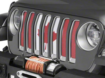 Under the Sun Grille Insert - Oh Yah (2018 Jeep Wrangler JL)