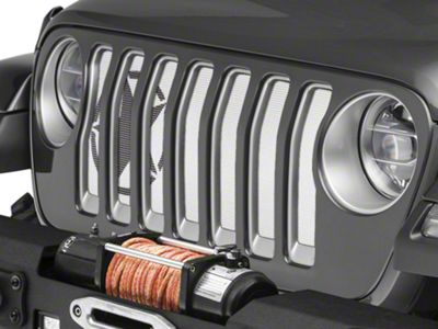 Under the Sun Grille Insert - Oscar Mike (2018 Jeep Wrangler JL)