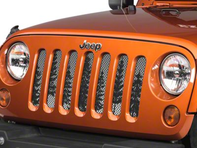Under the Sun Grille Insert - Pine Trees Grey Sky (07-18 Jeep Wrangler JK)