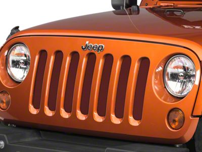 Under the Sun Grille Insert - Red Rock Crystal Pearl (07-18 Jeep Wrangler JK)