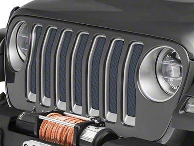 Under the Sun Grille Insert - Rhino (2018 Jeep Wrangler JL)
