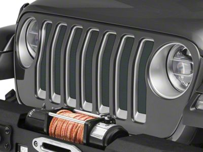Under the Sun Grille Insert - Shale Green Metallic (2018 Jeep Wrangler JL)