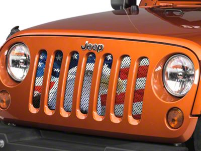 Under the Sun Grille Insert - Soaring High (07-18 Jeep Wrangler JK)