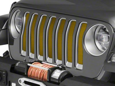 Under the Sun Grille Insert - Solar Yellow (2018 Jeep Wrangler JL)