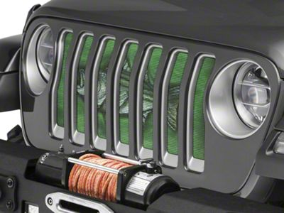 Under the Sun Grille Insert - Striped Bass (2018 Jeep Wrangler JL)