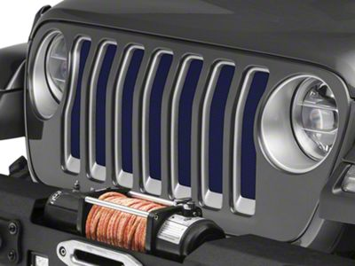 Under the Sun Grille Insert - True Blue (2018 Jeep Wrangler JL)