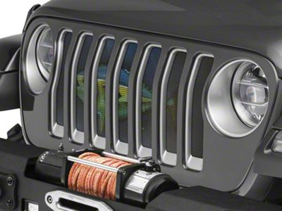 Under the Sun Grille Insert - Tuna (2018 Jeep Wrangler JL)