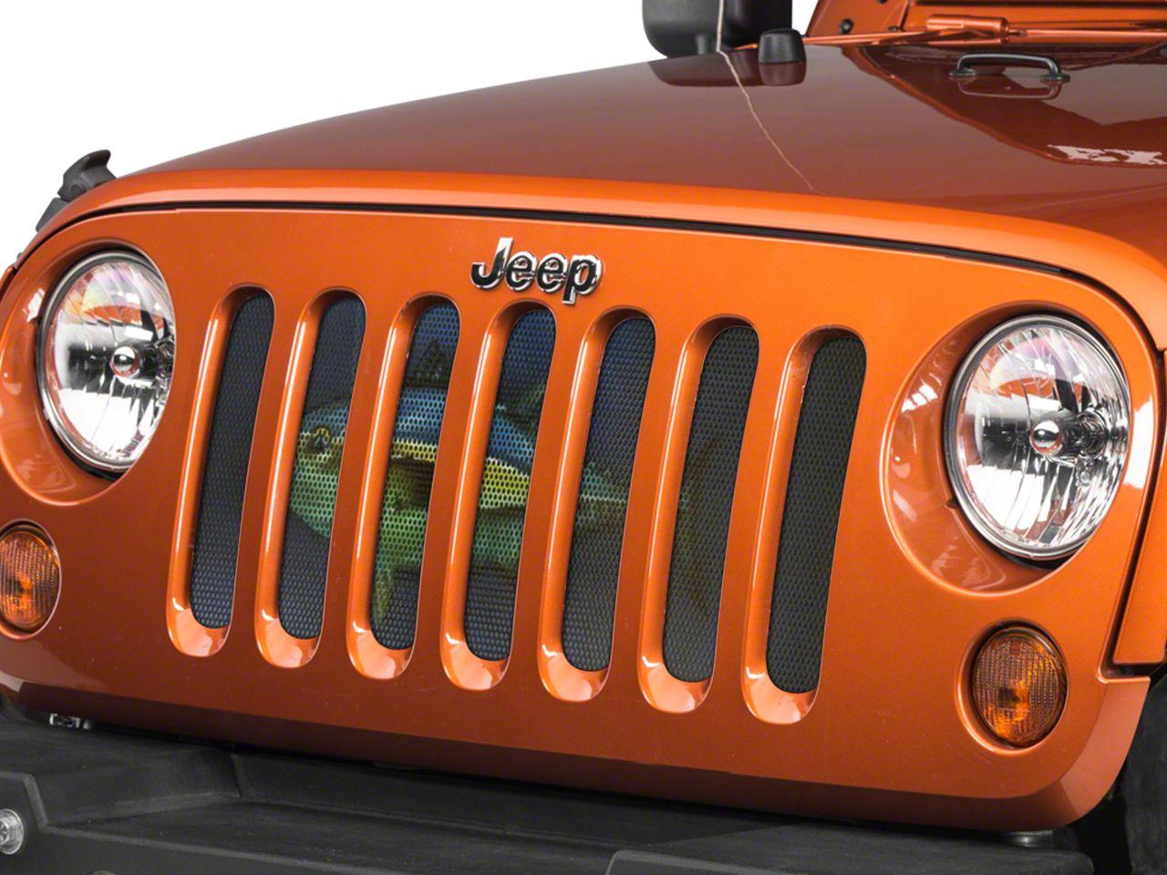 Under the Sun Grille Insert - Tuna (07-18 Jeep Wrangler JK)