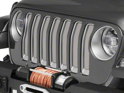 Under the Sun Grille Insert - White (2018 Jeep Wrangler JL)