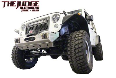 VKS Fabrication The Judge Front Winch Bumper (07-18 Jeep Wrangler JK)