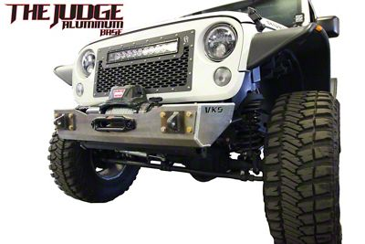 VKS Fabrication The Judge Front Winch Bumper w/ Hoop (07-18 Jeep Wrangler JK)