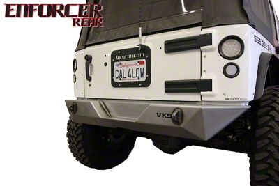 VKS Fabrication Enforcer Rear Bumper (07-18 Jeep Wrangler JK)