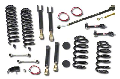 Clayton Off-Road 4 in. Entry Level Short Arm Lift Kit (97-06 Jeep Wrangler TJ)