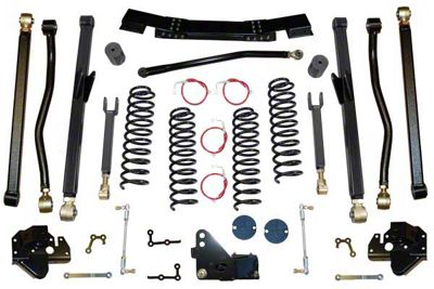 Clayton Off-Road 3.5 in. Long Arm Lift Kit (07-11 Jeep Wrangler JK)