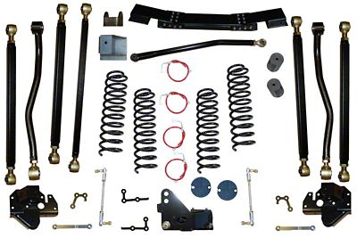 Clayton Off-Road 3.5 in. Pro Series 3 Link Long Arm Lift Kit (07-11 Jeep Wrangler JK)