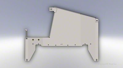 Clayton Off-Road Transfer Case Skid Plate (07-11 Jeep Wrangler JK)