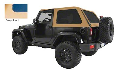 Suntop Bowless Top U2 - Deep Sand (07-18 Jeep Wrangler JK 2 Door)