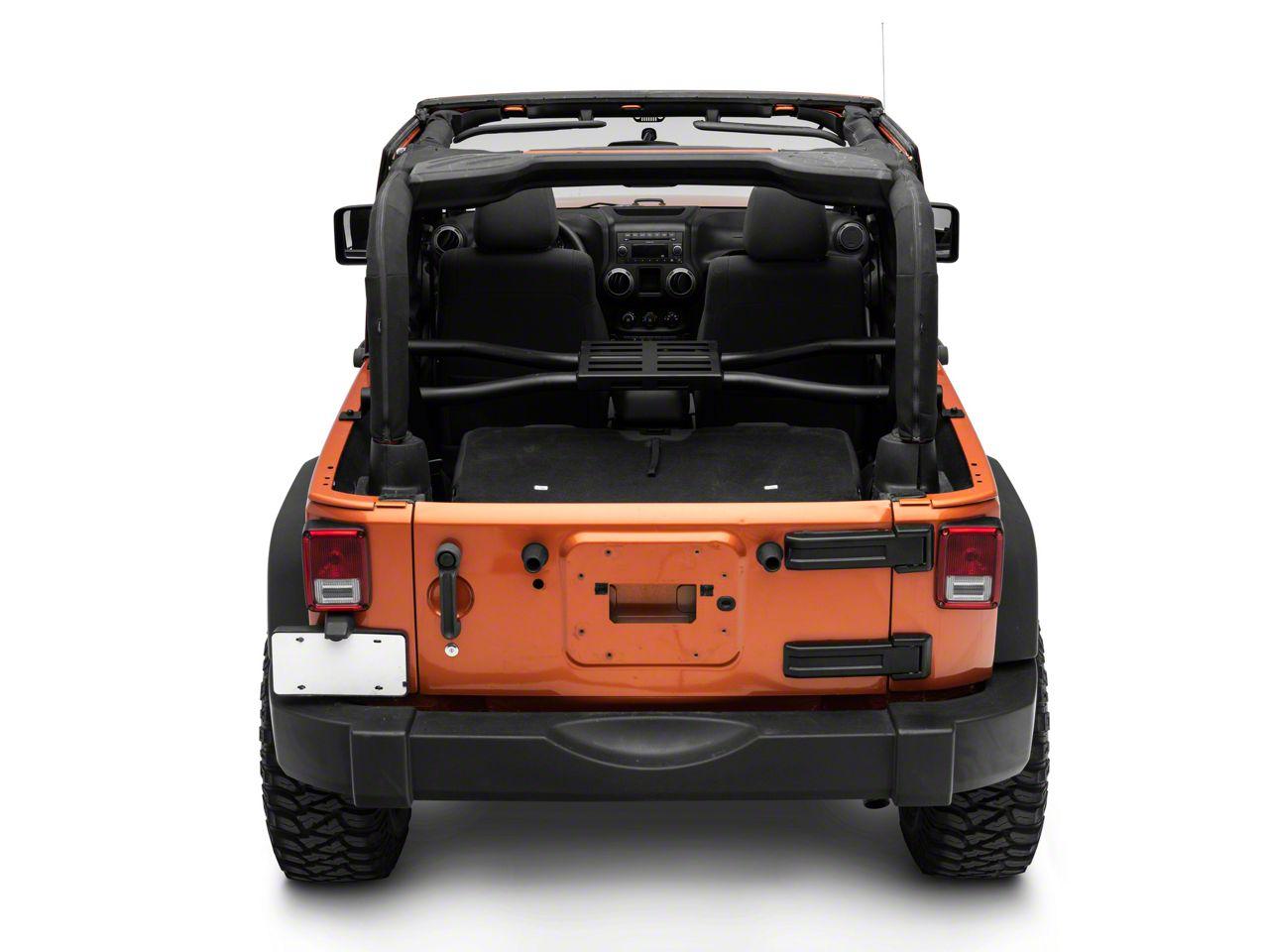 Suntop Spider Tire Rack (07-18 Jeep Wrangler JK)