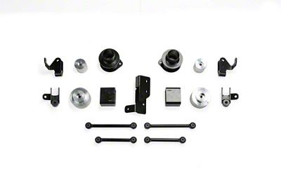 Fabtech 3 in. Spacer Suspension Lift System (2018 3.6L Jeep Wrangler JL 4 Door)
