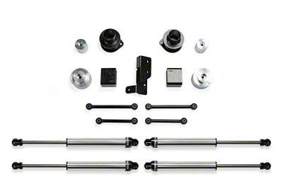 Fabtech 3 in. Spacer Suspension Lift System w/ Dirt Logic 2.25 Shocks (2018 3.6L Jeep Wrangler JL 4 Door)