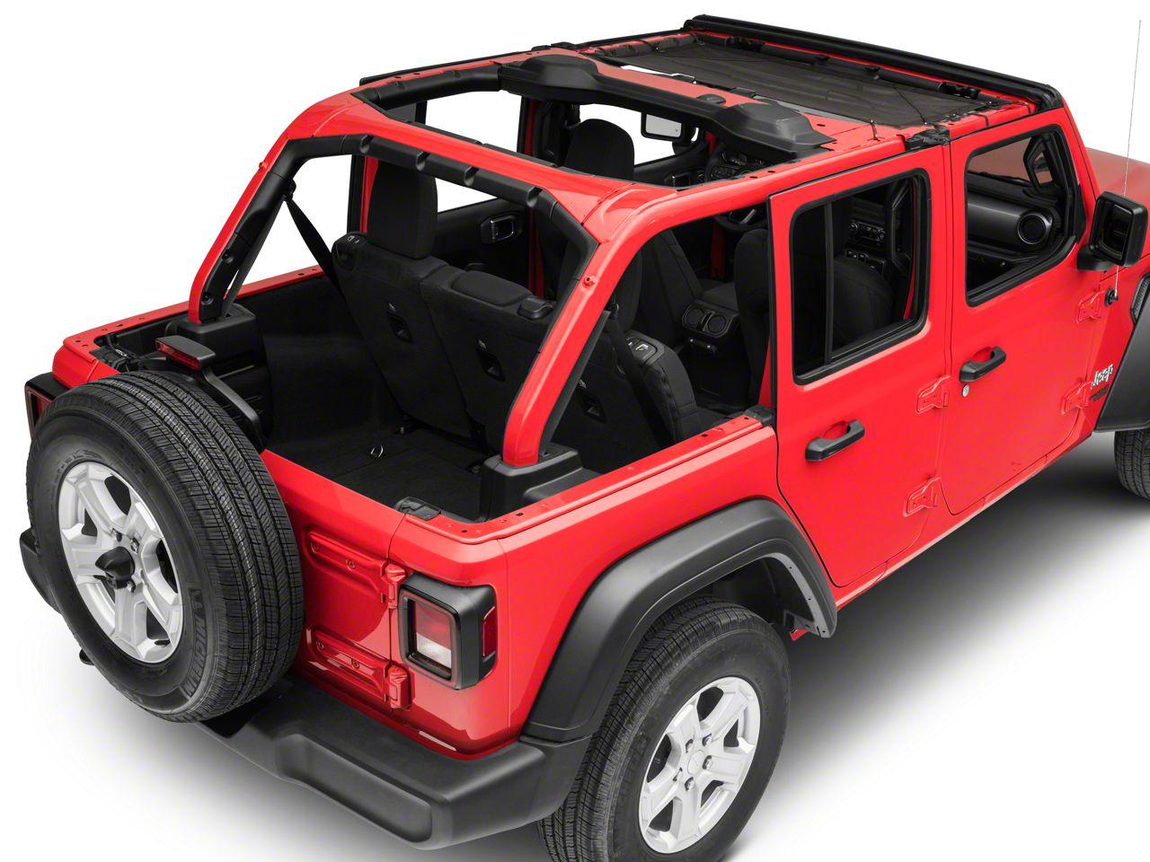 TruShield HalfShade Top (18-19 Jeep Wrangler JL 4 Door)