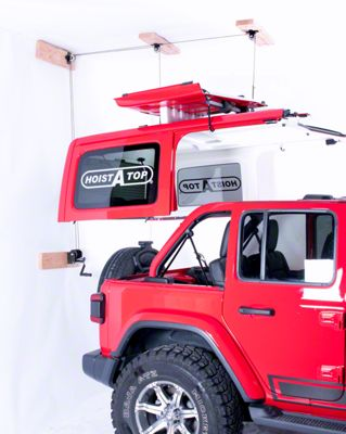 Lange Crank Hoist-A-Top (2018 Jeep Wrangler JL 4 Door)